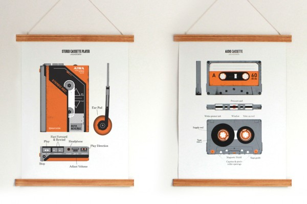 audio-cassette-walkman-screen-print-canvas