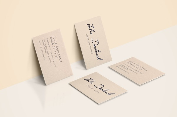 Julie Declerck Business Cards